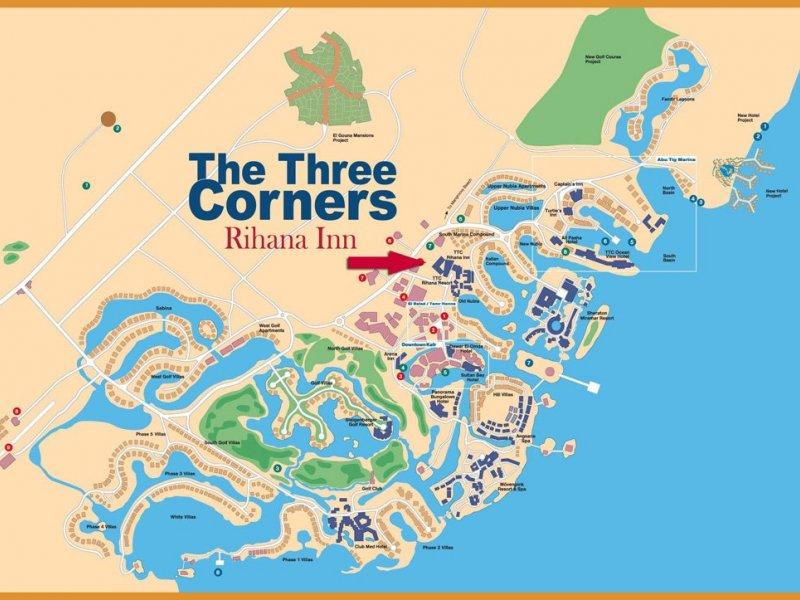 Three Corners Rihana Inn - 2 Popup navigation